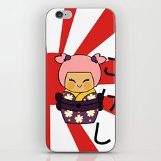 Kokeshi Ayame  iPhone & iPod Skin