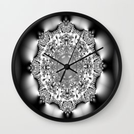 The doily of the surprised camel Wall Clock