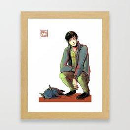 Jem and Church Framed Art Print