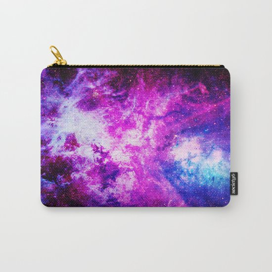 Purple Blue nebuLA Carry-All Pouch