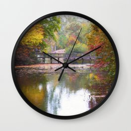 Autumn Impressions Wall Clock