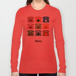 iRetro (boys) / black Long Sleeve T-shirt