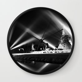 Light show Wall Clock