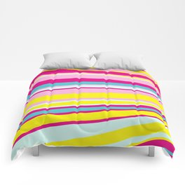 abstract stripes Comforters