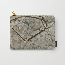Egon Schiele - Autumn Tree In Stirred Air (Winter Tree) Carry-All Pouch