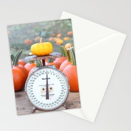 Pumpkin Stand Stationery Cards