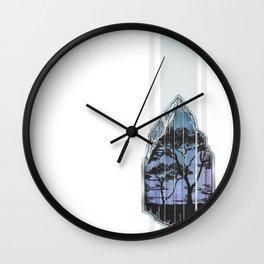 Tanzanite. Wall Clock