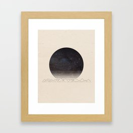 Spacescape Variant Framed Art Print