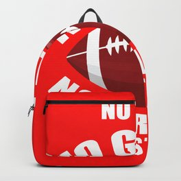 Pain Pride Bouncing Story Football Gift Backpack
