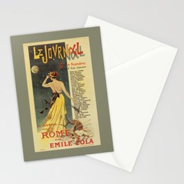Rome by Emile Zola Stationery Cards