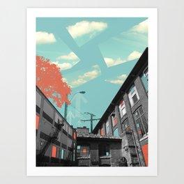 Post-industrial Art Print