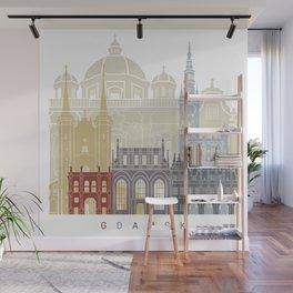 Gdansk skyline poster Wall Mural