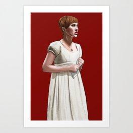 Sonya is Good Art Print