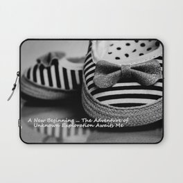 Photography A New Beginning Laptop Sleeve