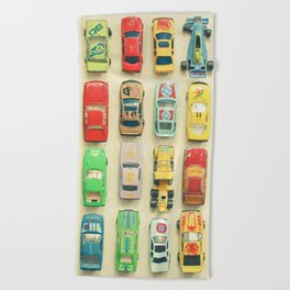 Car Park Beach Towel