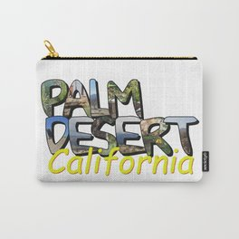 Big Letter Palm Desert California Carry-All Pouch