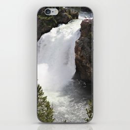 Grand Canyon Of The Yellowstone Lower Falls iPhone Skin
