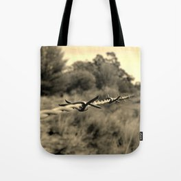 Watch for the spikey ones Tote Bag
