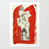Ikkebukuro Art Print