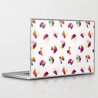 diamonds Laptop & iPad Skins featuring diamonds by silviarossana