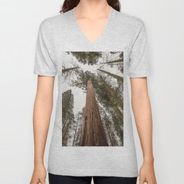 Sequoia Stretch - Nature Photography Unisex V-Neck
