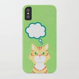 cat 2-British Shorthairs iPhone Case