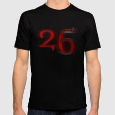 26 X-LARGE Black Mens Fitted Tee