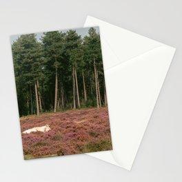 forest I Nature photography I Cow I Holland I Netherlands I Purple I print art Stationery Cards