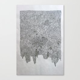 cota de malla - cote de mailles - mail (armour) Canvas Print