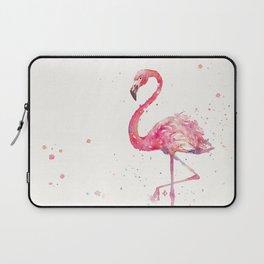 A Flamingos Fancy Laptop Sleeve