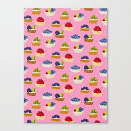 Fruit Tarts Canvas Print