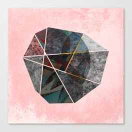 UNSETTLED OCTAGON Canvas Print