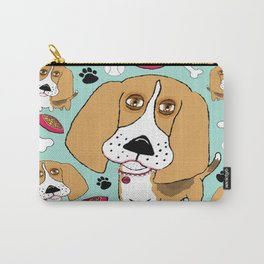 Beafus the Bad Boy Beagle Carry-All Pouch
