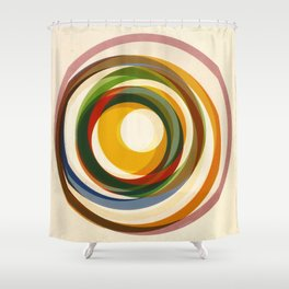 Cerchi I Shower Curtain