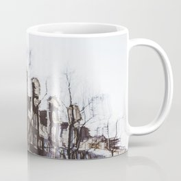 Reflection of Typical Dutch houses, Amsterdam, Netherlands Coffee Mug