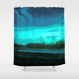 LANDSCAPE - HUNGARY Shower Curtain
