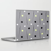 dots Laptop & iPad Skins featuring Dots by Dorothy Pinder