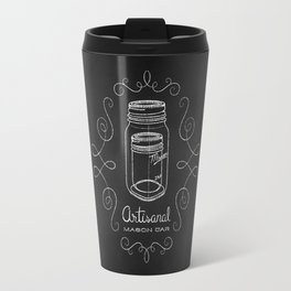Artisanal Mason Jar Travel Mug