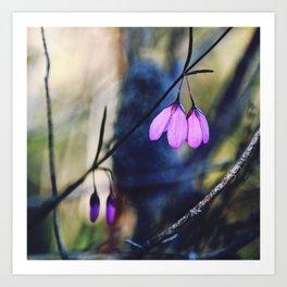 Woodland Bells Art Print