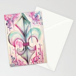 Fleur de Lis Stationery Cards
