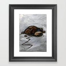 The Lorax Framed Art Print