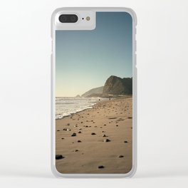 Pacific Coastal Highway Clear iPhone Case