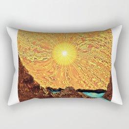 New Day, Same Sun Rectangular Pillow