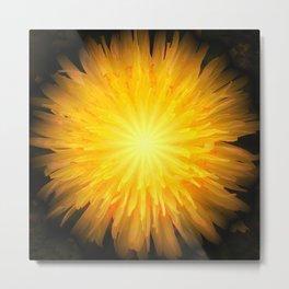 Dandelion Fire Metal Print