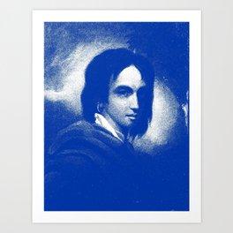 Artistic Portrait of a young boy 3 Art Print