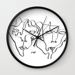 Mick Wall Clock