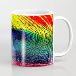 pluma de pavo real ( peacock feather ) Coffee Mug