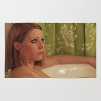 tenenbaum Area & Throw Rugs featuring MARGOT TENENBAUM by VAGABOND
