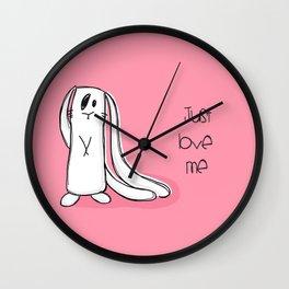 Just love me... Wall Clock
