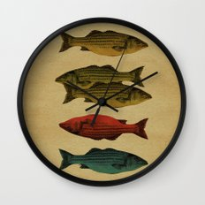 One fish Two fish... Wall Clock